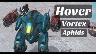 Gameplay Feat. Hover Vortex & Aphids | War Robots [WR]