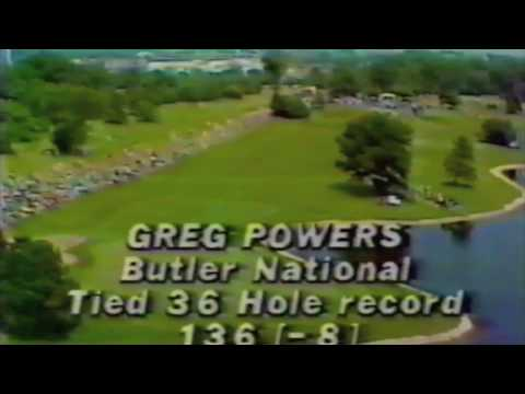 1981 Western Open Greg Powers Butler National Golf Club Record