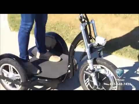 3 Wheel Electric Scooters For Adults Youtube