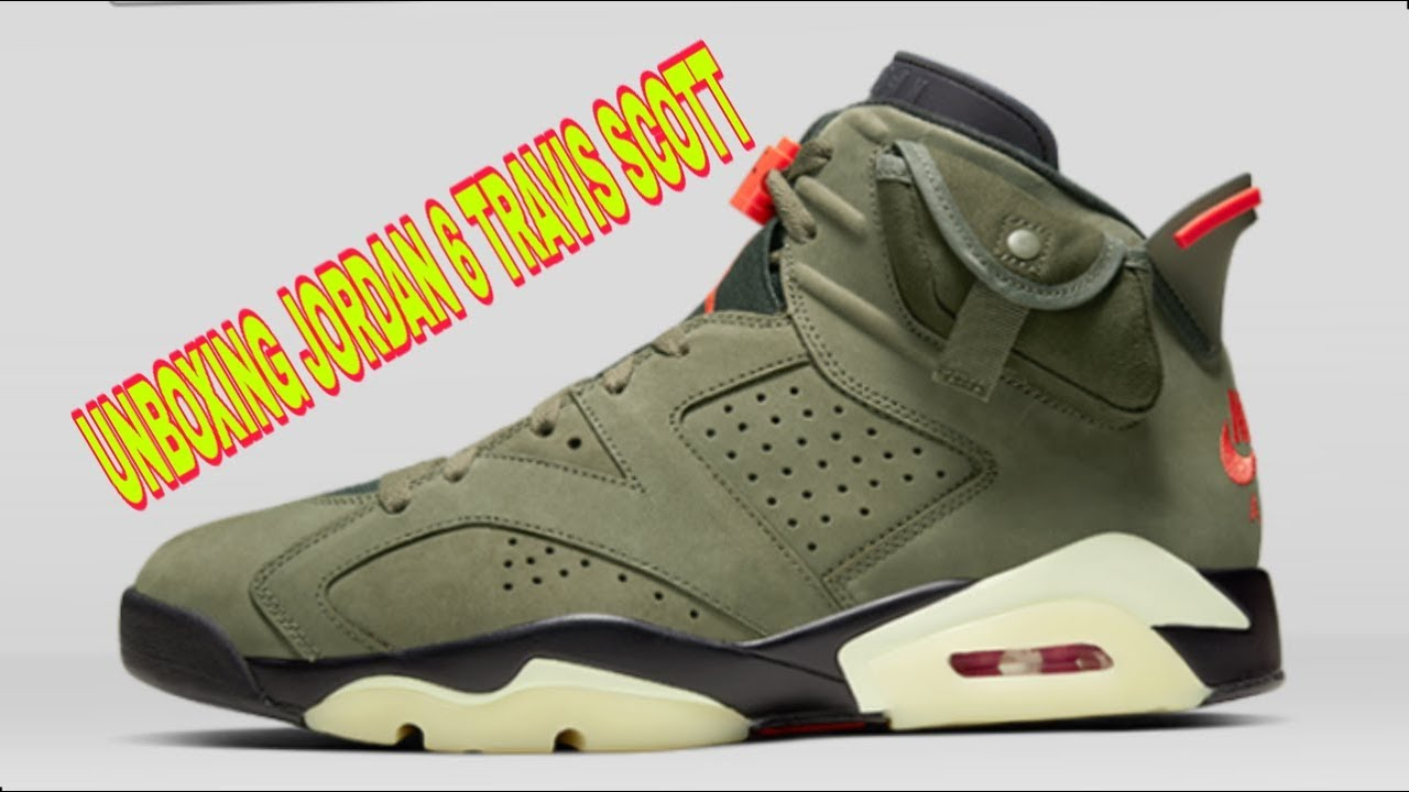 MENANG & Unboxing Jordan 6 x Travis Scott