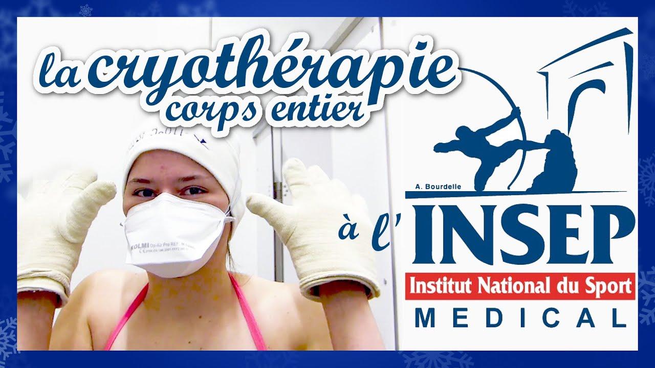 La cryothérapie corps entier à l'INSEP