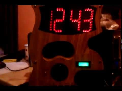 Diy Clock with leds and MP3-player
