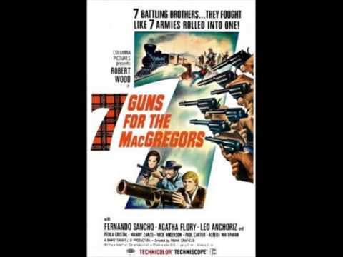 Poster do filme 7 Pistolas para os MacGregor