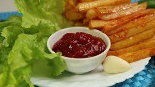 Быстро и вкусно | Картошка фри без жарки в масле