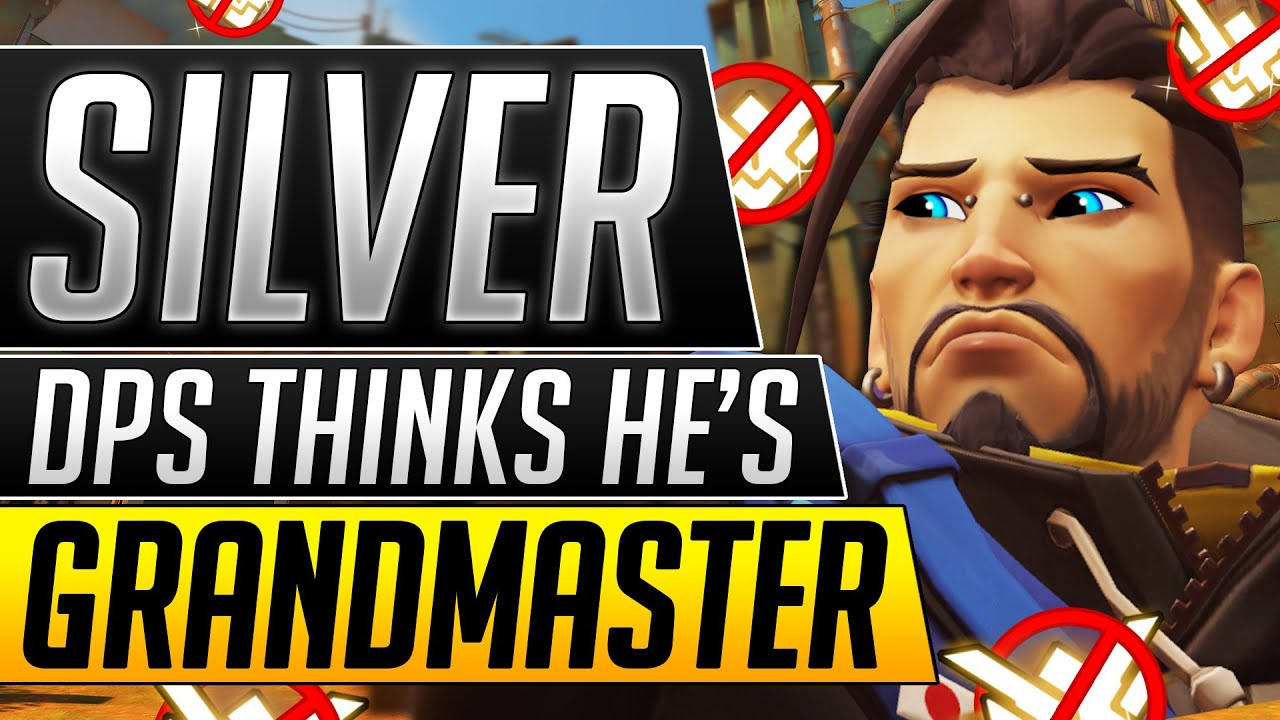 SILVER HANZO Thinks HE IS PERFECT - Coach ROASTS Uncarriable DPS - Overwatch Guide