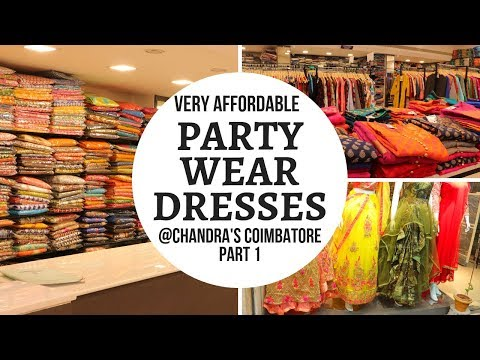 Party Wear Dress Shopping in Coimbatore || Pocket Friendly Party Wear in RS Puram