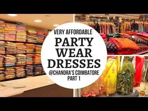 Party Wear Dress Shopping in Coimbatore || Pocket Friendly Party Wear in RS Puram