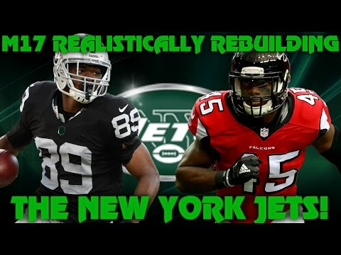 Madden 17 Franchise | Realistic Rebuild of The New York Jets! Hackenburg the GOAT!