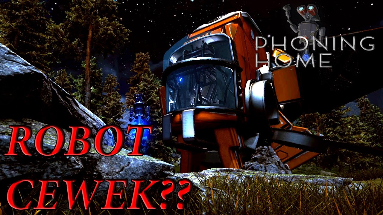 Download Robot Cewek - phoning home Indonesia Gameplay #3