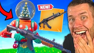 wir hacken die neue Waffe ins Spiel...