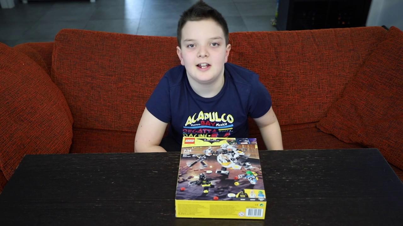 Download LEGO Batman the Movie 70920 - Egghead mech food fight - Speedbuild
