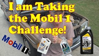Taking the Mobil 1 challenge on the Mercedes 240d