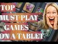 TOP ANDROID GAMES FOR TABLET 2017/2018 | MUST PLAY GAMES EVEN IN 2018
