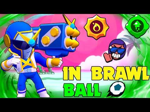 Super Ranger Brock Gameplay In Brawl Ball!