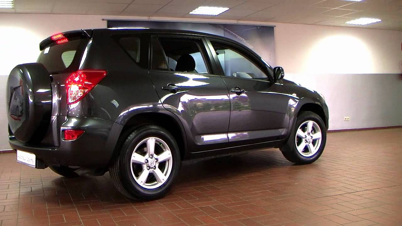 toyota rav4 2 0 vvt i sol 2007 rauchgrau mica 05021487 youtube. Black Bedroom Furniture Sets. Home Design Ideas