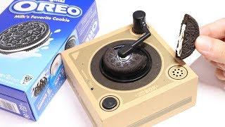Oreo Music Box Cookie Record Player Japan Version