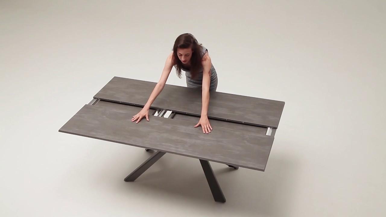 Table De Ping Pong Transformable extendable tables lungo largo | space saving design furnitureeasyline
