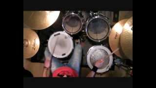 Joey Ramone - What a Wonderful World [Drums cover]