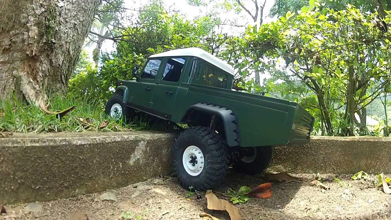 Land Rover Models >> Land Rover Defender D130 RC 1:10 - Ecampi.com - YouTube