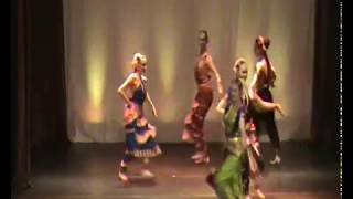 Song on Krishna - Bharatanatyam dance