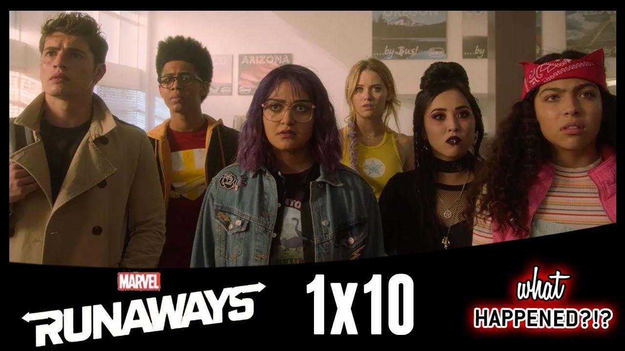 Download MARVEL'S RUNAWAYS Episode 10 Recap - Season 1 Ending Explained & Theories | What Happened?!?