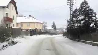 Lengyelfalva télen autóval - 2010.