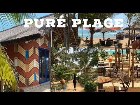 MOST BEAUTIFUL BEACH RESORT IN LOMÉ TOGO 🇹🇬   PURÉ PLAGE
