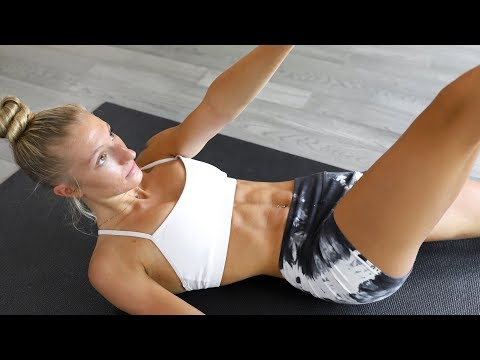 AT HOME ABS - 15 min Intense Workout