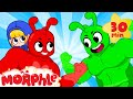 Morphle vs Orphle Superheroes - BRAND NEW | Cartoons for Kids | My Magic Pet Morphle