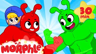 Morphle vs Orphle Superheroes - BRAND NEW | Cartoons for Kids | My Magic Pet Morphle