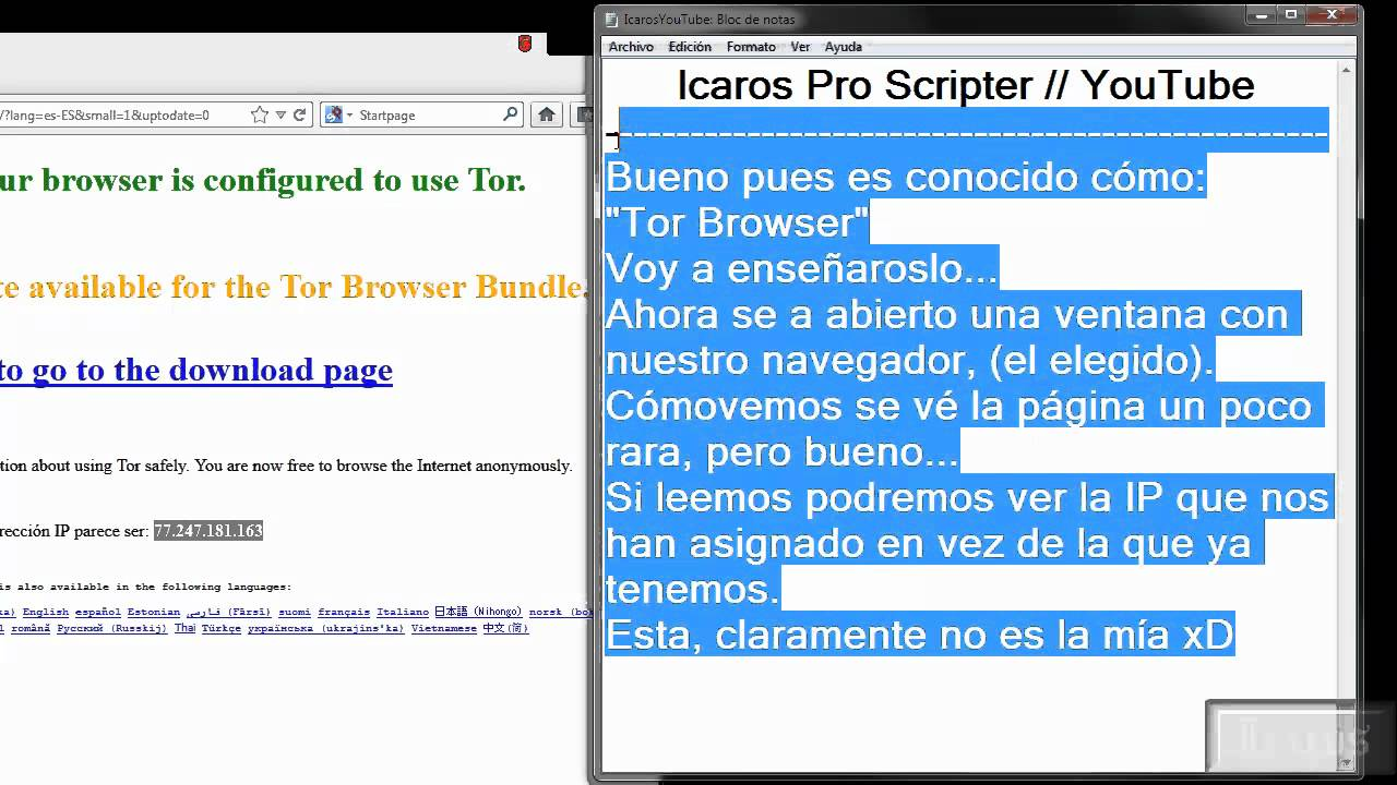 how to change ip in tor browser