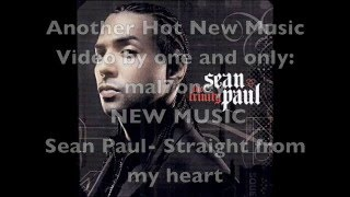 Watch Sean Paul Straight From My Heart video