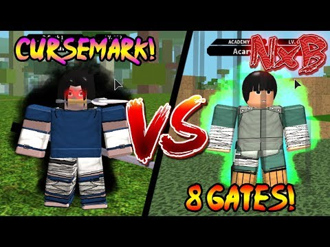 CURSEMARK VS 8 GATES! WHICH MODE IS BETTER? | Naruto RPG: Beyond