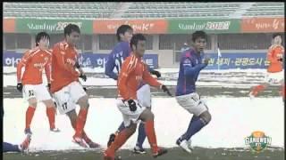 2012 K리그 44R 강원FC vs 인천유나이티드 하이라이트