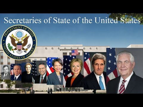 Secretaries of State of the United States