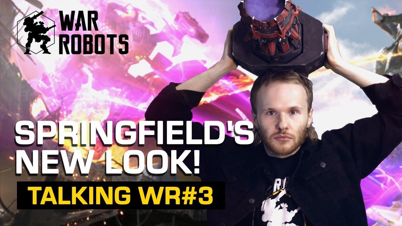 Download New Springfield, Halloween & WR merch | Talking War Robots #3