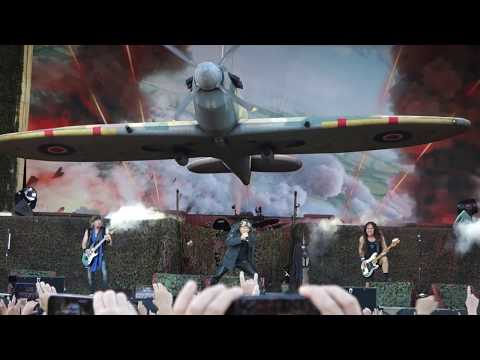 Iron Maiden - Aces High Live @ Letnany Airport Prague 20.6.2018
