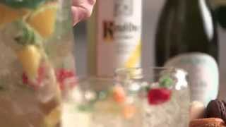 How To Make Wedding Day White Wine Sangria With Ketel One Vodka And Truvee Chardonnay