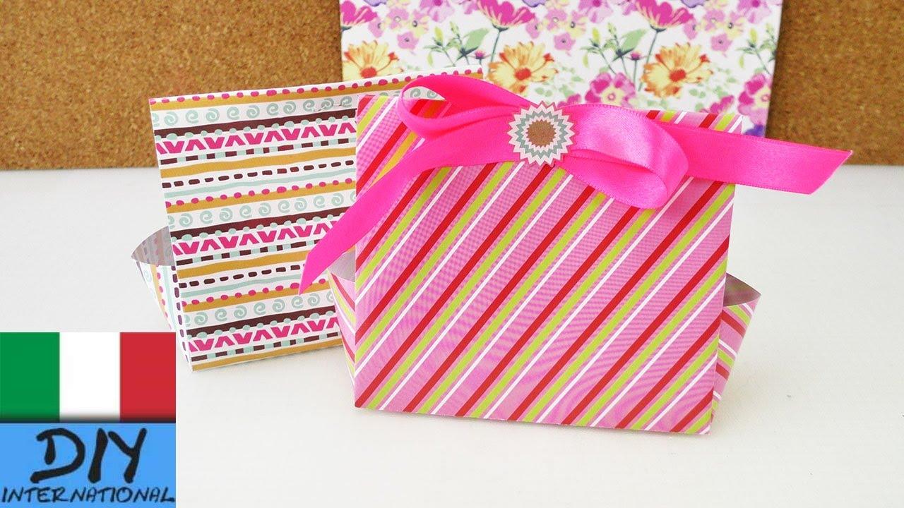 Preferenza Scatole regalo fai da te per Calendario Avvento | Compleanno e  OG49