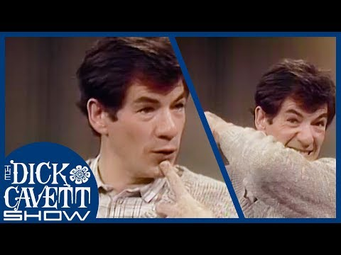 Ian McKellen Find His Characters Within Himself | The Dick Cavett Show