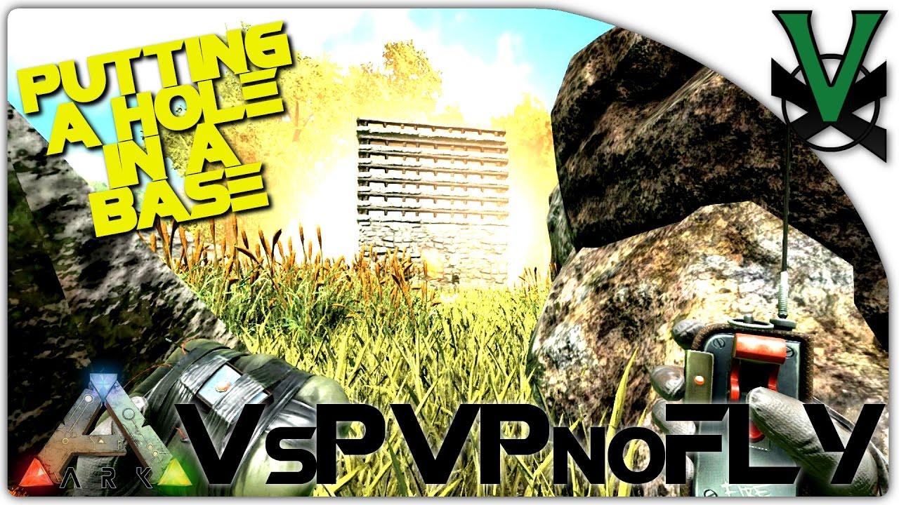 C4 + Stone Base = FREE BEER! | VsPVP Sub Server | ARK