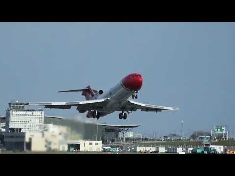 *RARE* Oil Spill Response Boeing 727 at Cork Airport *14th and 15th of January 2018*