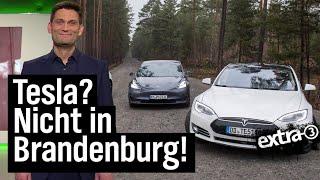 Märkische Provinz vs. Tesla | extra 3 | NDR
