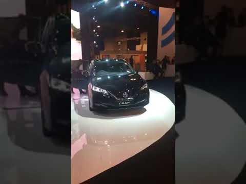 Nissan Leaf Fleet market 22 listopad2017 Warszawa