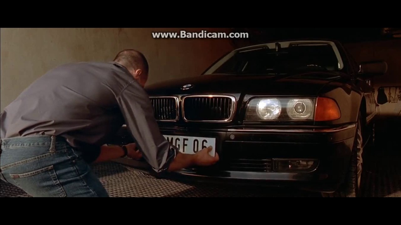 The Transporter 1 - Washing Bmw Scene - YouTube