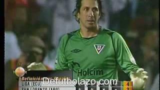 Liga de Quito 1(5) San Lorenzo 1(3) - Cuartos Final  Penales