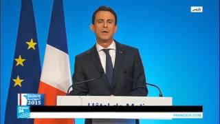 كلمة مانويل فالس بعد الجولة الثانية من الانتخابات الجهوية الفرنسية