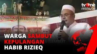 Download Habib Rizieq Pulang ke Indonesia Hari Ini  Jamaah Siap Menyambut | tvOne Minute