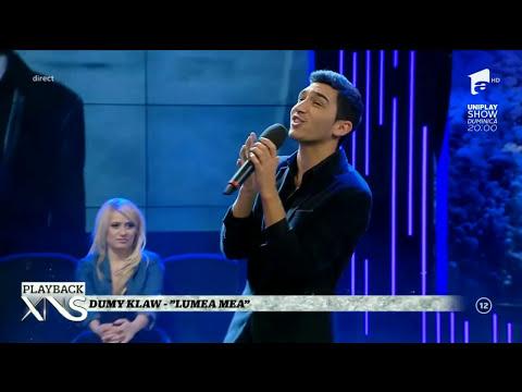 Dumy Klaw - Lumea Mea la Xtra Night Show @Antena 1