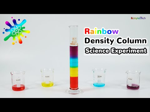 How to Make a Beautiful Sugar Density Column?